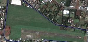 Área do Empreendimento Eurogarden - Maringá